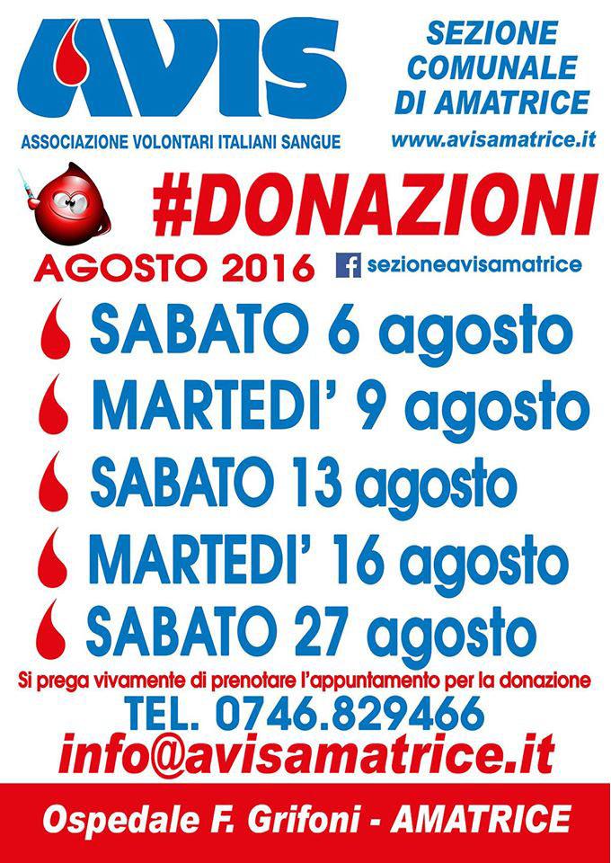 DonazioniAgosto2016