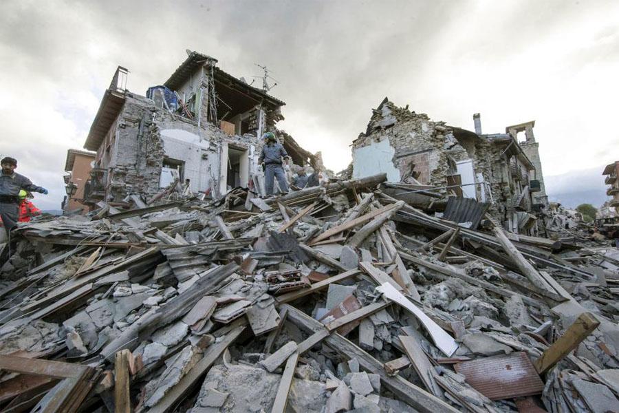 Info emergenza terremoto