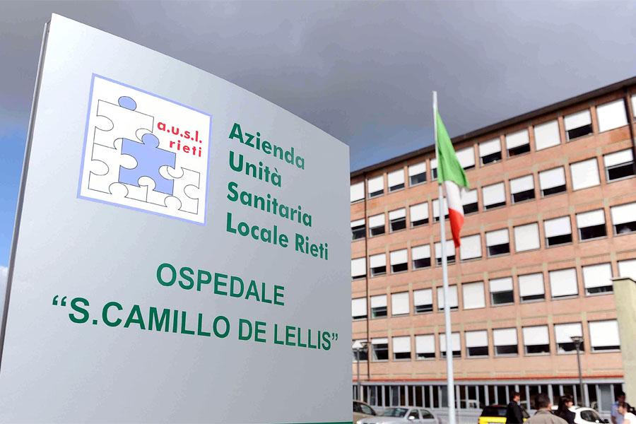 Ospedale di Rieti per le donazioni