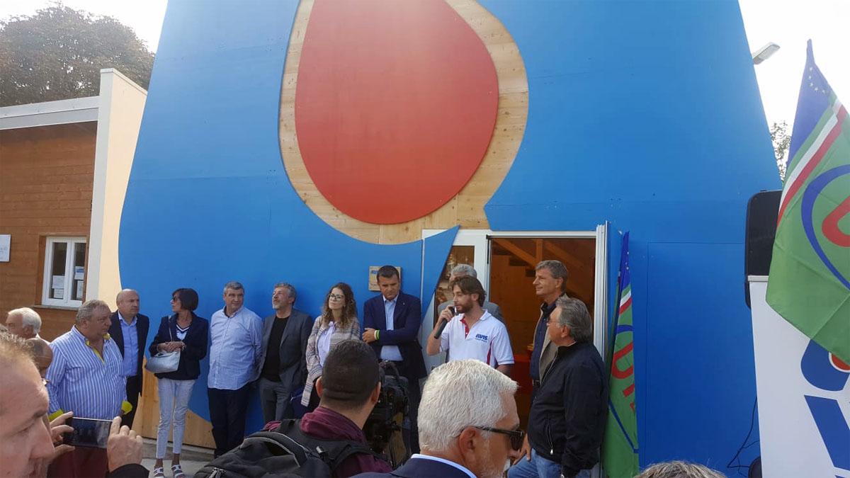 Cerimonia di inaugurazione con la UILA