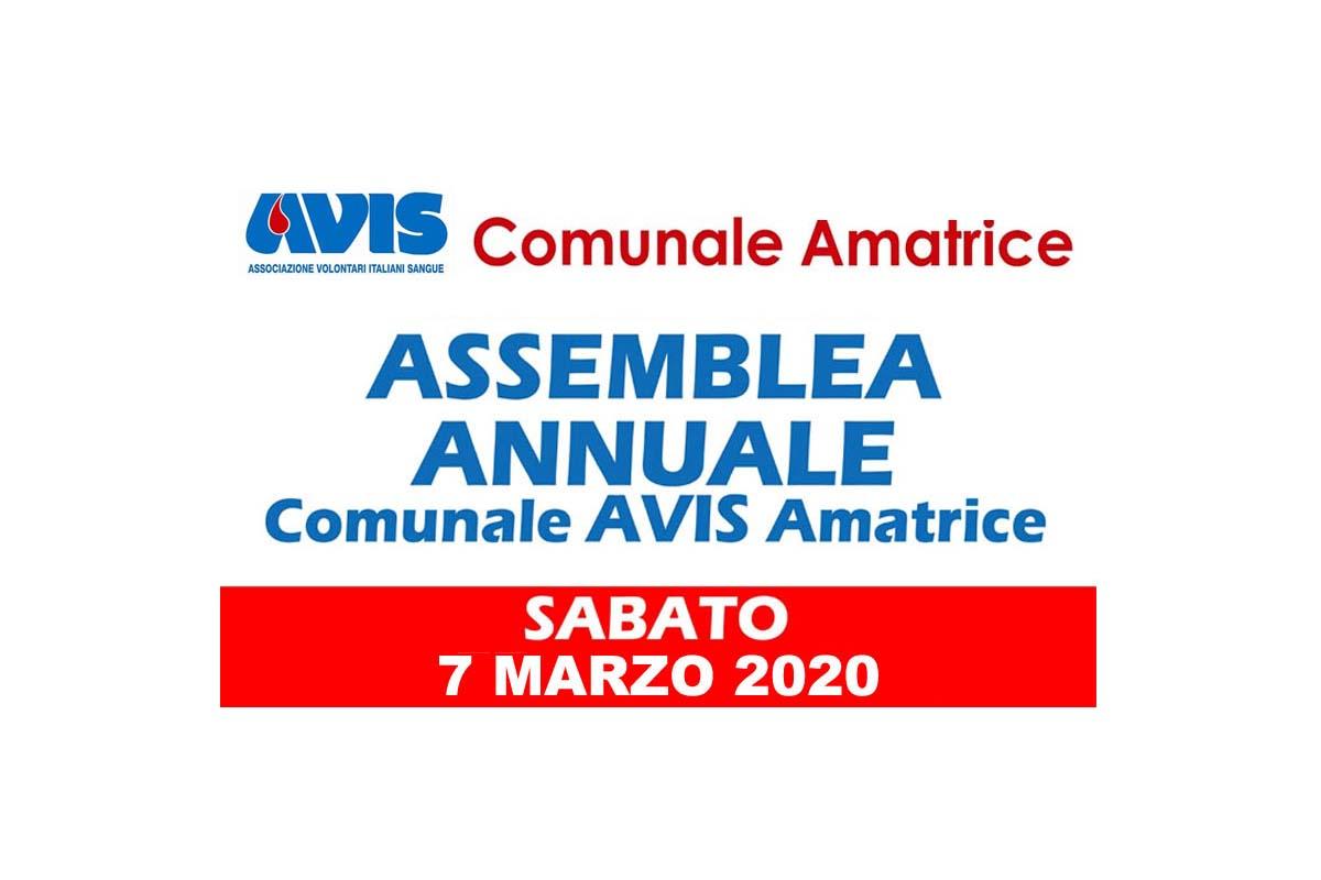 Convocazione assemblea annuale 2020