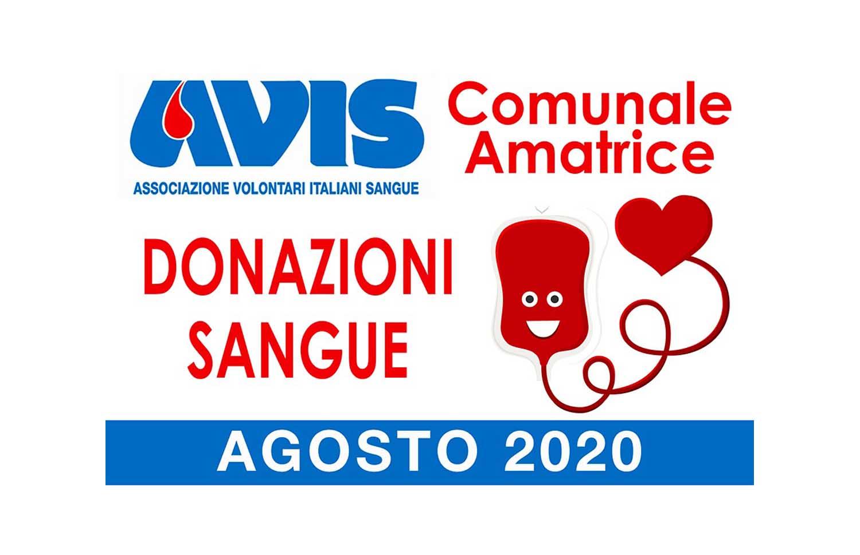 Donazioni agosto 2020