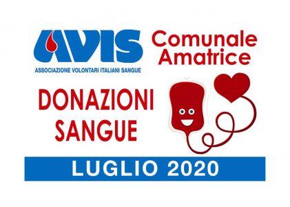 Donazioni luglio 2020