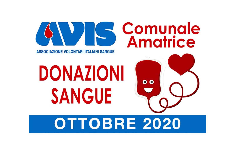 Donazioni ottobre 2020