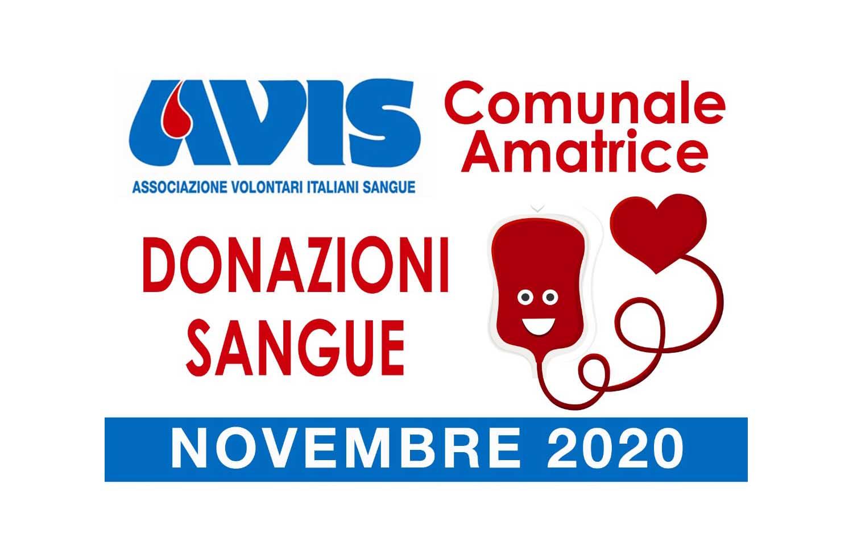 Donazioni novembre 2020