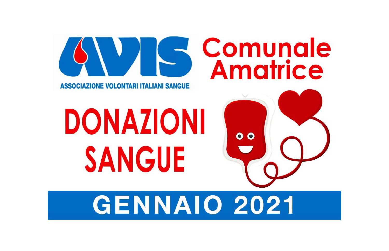 Donazioni gennaio 2021