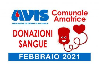 Donazioni febbraio 2021