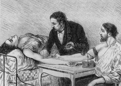 Storia della trasfusione