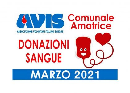 Donazioni marzo 2021