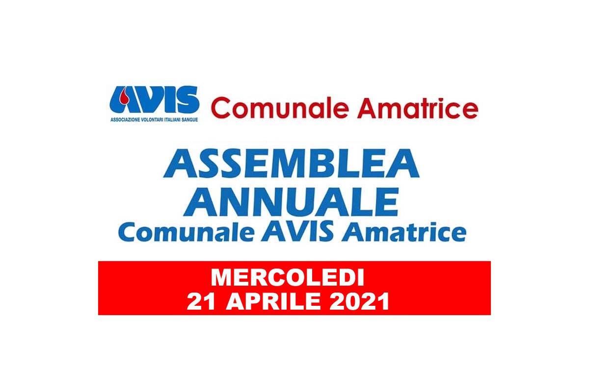 Convocazione assemblea annuale 2021