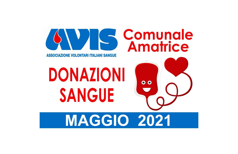 Donazioni maggio 2021