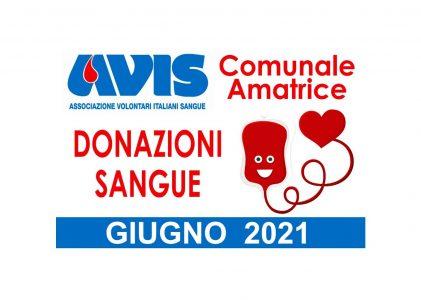 Donazioni giugno 2021