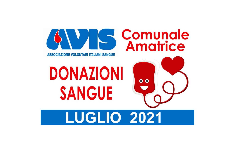 Donazioni luglio 2021